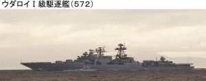 ウダロイ1級駆逐艦572