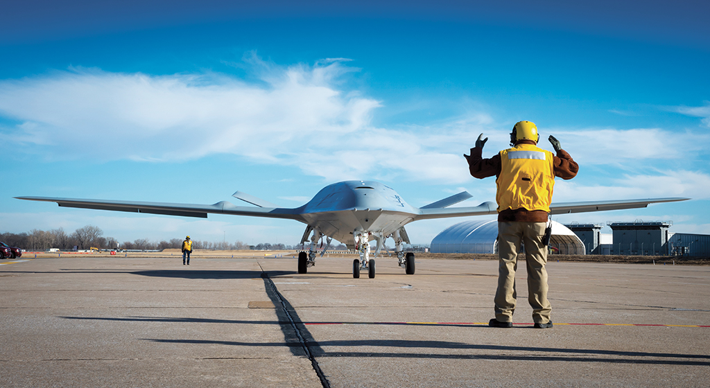 MQ-25 Missions DHD Rehearsals Day 3_MSF17-0064 Series