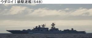 ウダロイ1級駆逐艦548