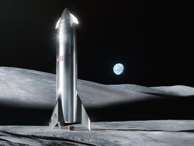 月面着陸図