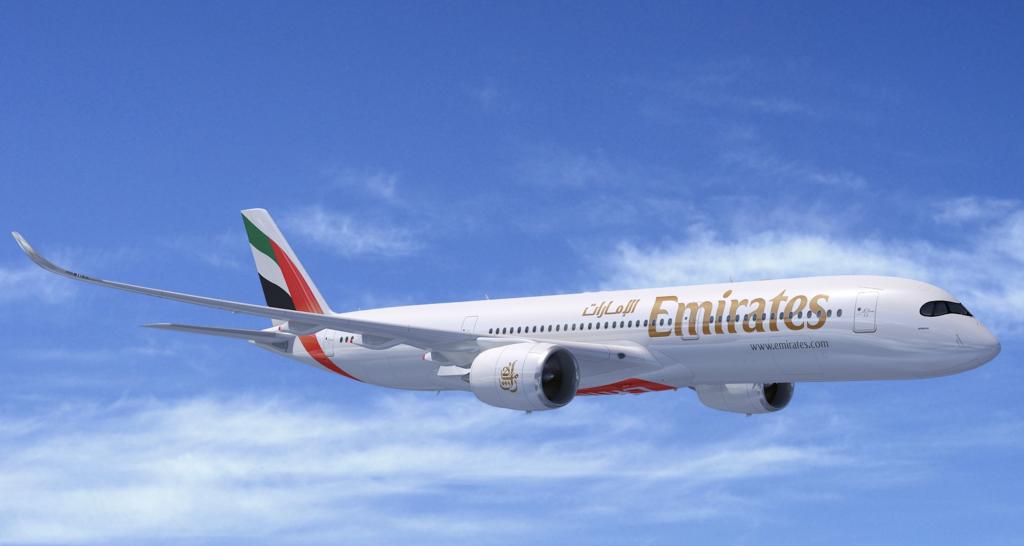 エミレーツ A350