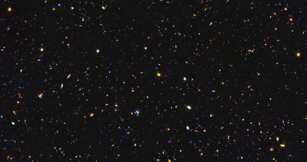 超遠方の銀河群