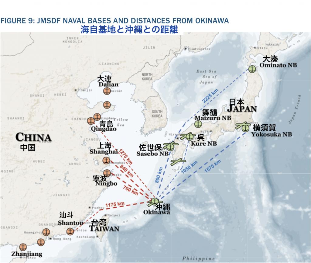 沖縄との距離