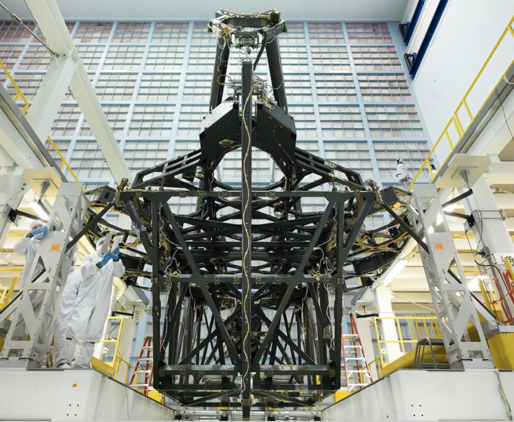 望遠鏡支持構造