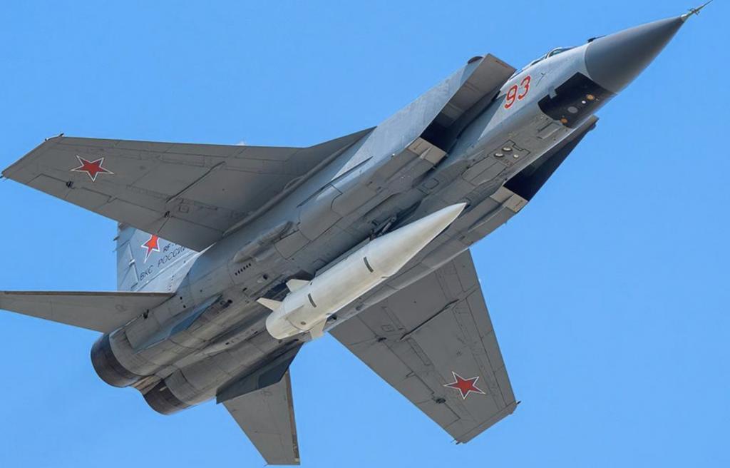 MiG-31Kフォックスハウンド