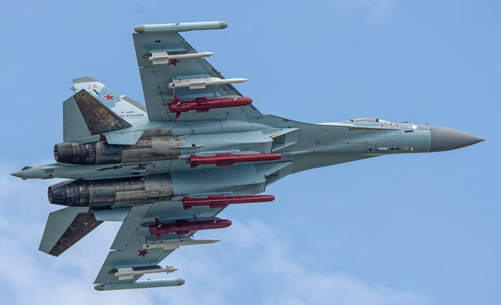 Su-35Sフランカー
