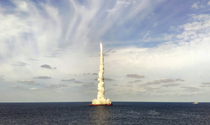 9月15日の発射