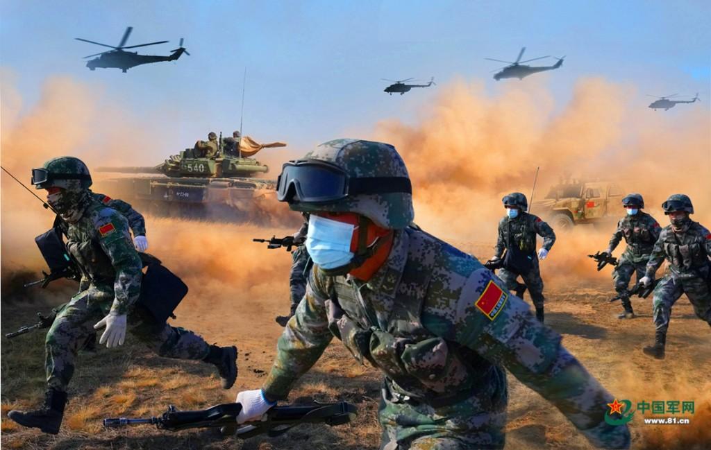 中露軍の演習