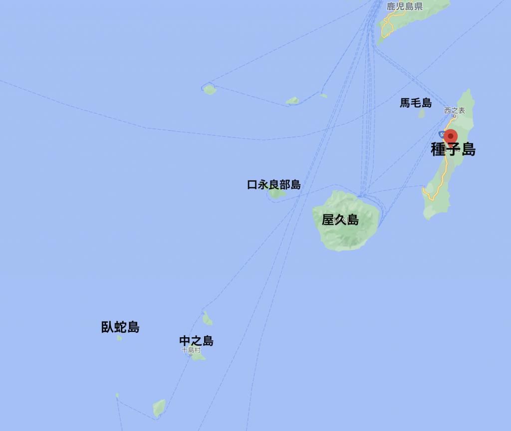 臥蛇島位置