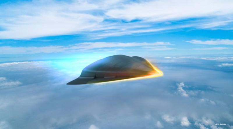 DARPA-Tactical-Boost-Glide-TBG-Hypersonic-Weapon-Concept